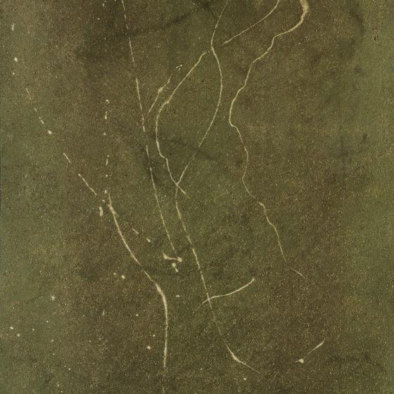 Flililili, acrylique et terre, 80×54 cm