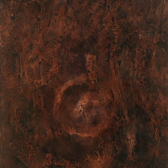 Baba, acrylique et terre, 100×80 cm